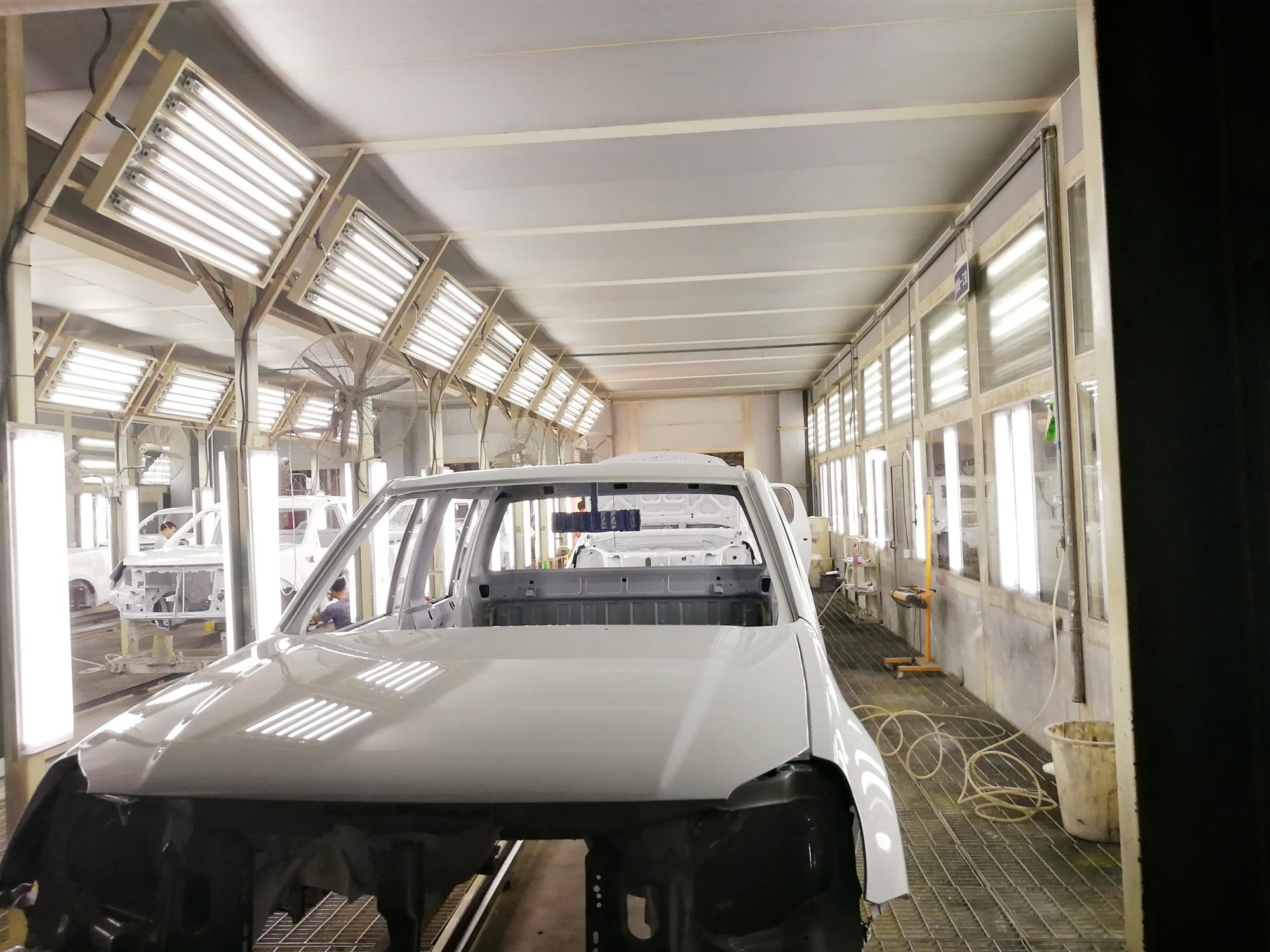 湖北汽车涂装生产线