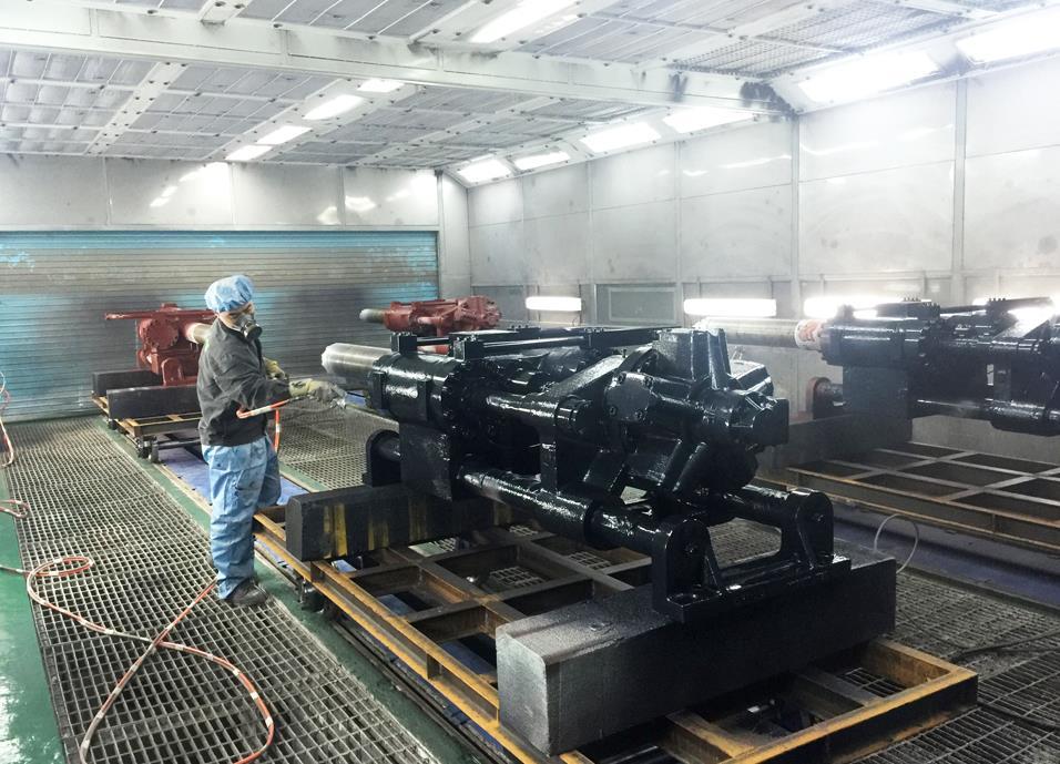 湖北机械喷漆设备